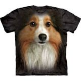 "The Mountain T-Shirt Erwachsene "" Sheltie"" - Gr. Small (Abverkauf)"