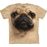 "The Mountain T-Shirt Erwachsene ""Mops (pug dog)"