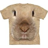 """Bunny Face"" The Mountain T-Shirt KINDER ""HASE"""