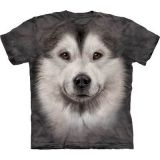 """Malamute"" The Mountain KINDER T-Shirt Gr. M - Abverkauf"