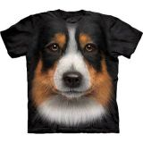 The Mountain T-Shirt Australian Shepherd Dog Gr. 5XL - Abverkauf
