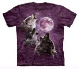 """Three Wolf moon - The Mountain T-Shirt Erwachsene Gr. Large - Abverkauf"